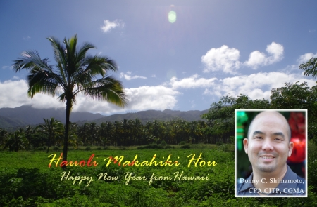 Happy New Year from Hawaii