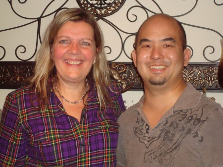 Nancy and Donny, November 2013