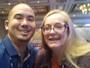 Donny & Tamra at SleeterCon